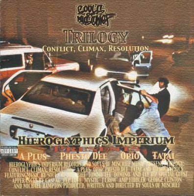 Souls Of Mischief – Trilogy: Conflict, Climax, Resolution (CD) (2000) (FLAC + 320 kbps)