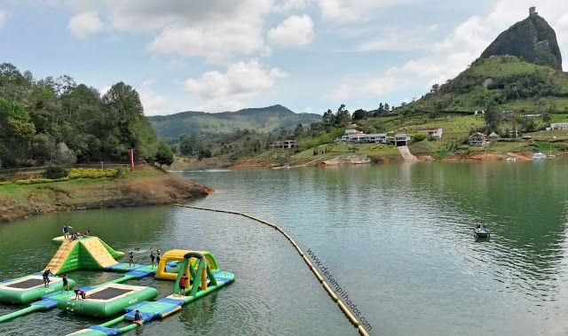 Trip to Comfama park in Guatapé, Colombia. Viagem com crianças. Turismo em um parque para pasar o dia. Bate volta. Day trip.