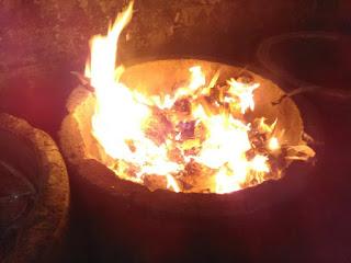 Sampah dibakar