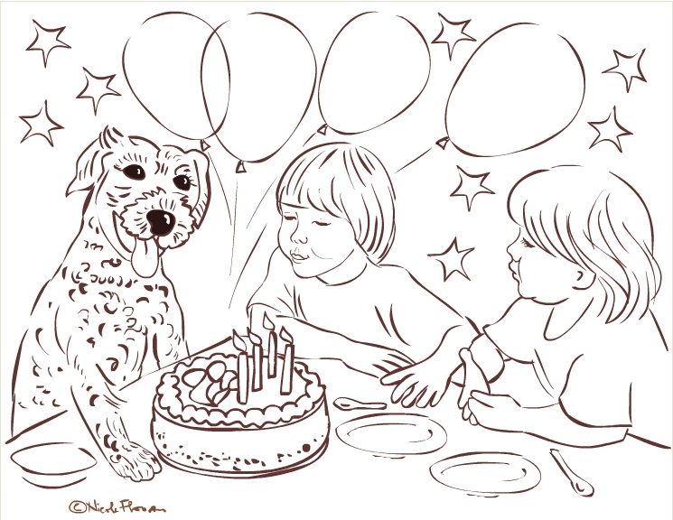 Happy 6th Birthday Coloring Pages high quality
