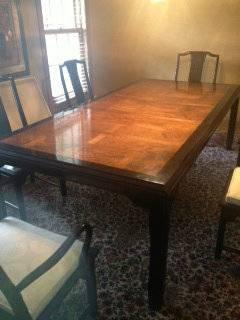 My best friend craig craigslist monday dining room table for Dining room tables craigslist