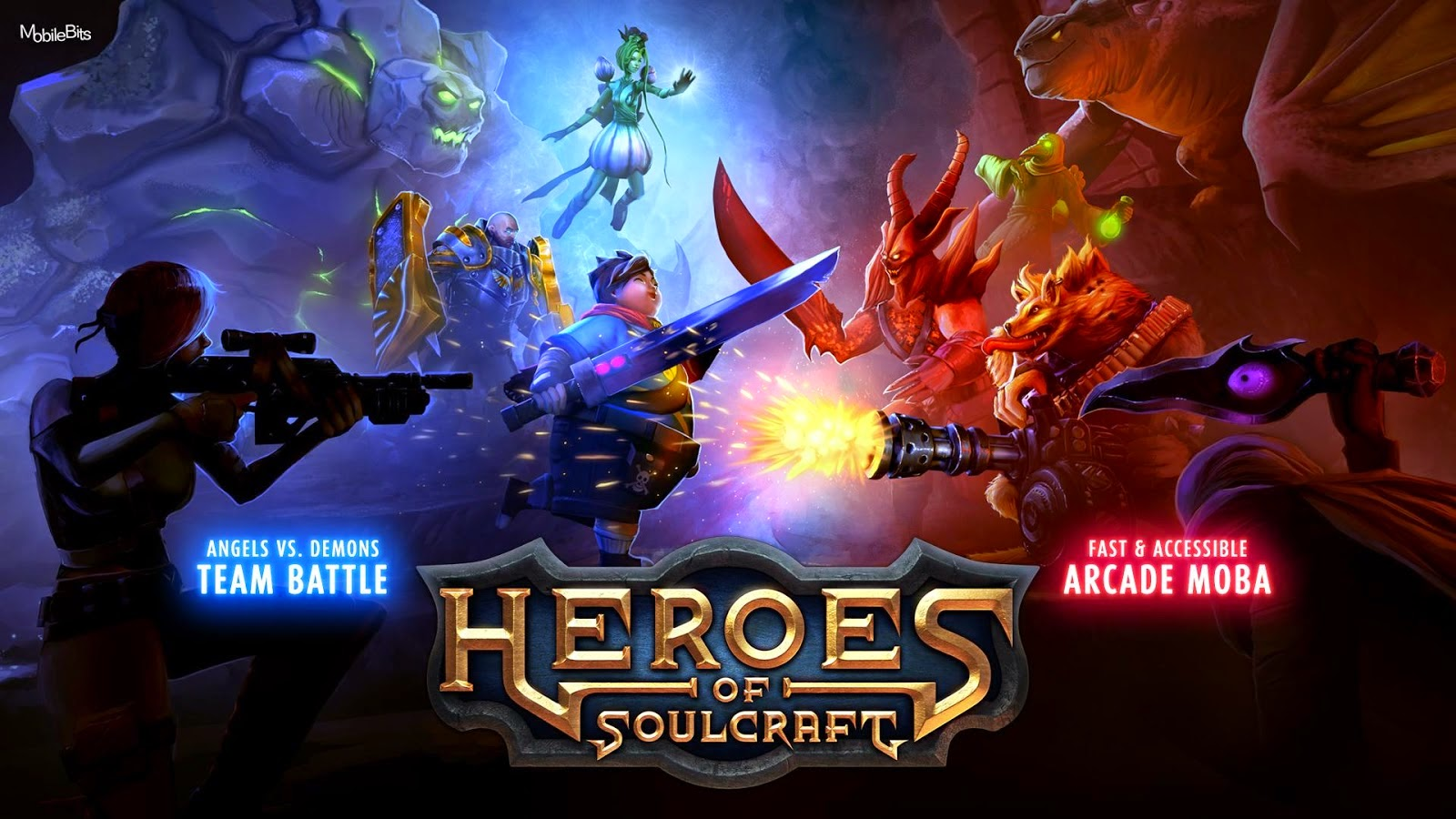 Download Heroes of SoulCraft - MOBA