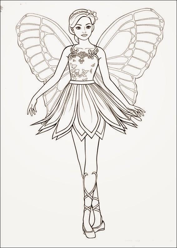 Ausmalbilder Disney Gratis malbuch malen Kinder  - Barbie Malvorlagen Gratis