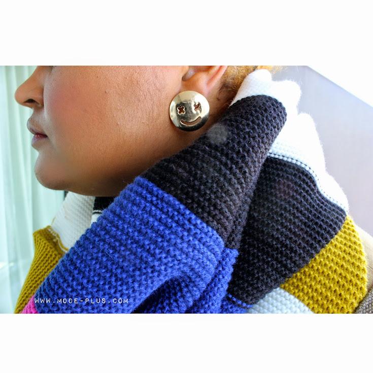 monki knit scarf