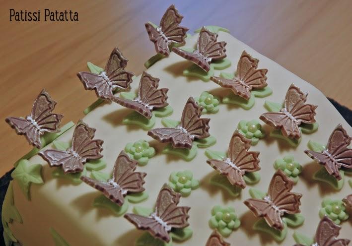 cake design, gâteau 3D, pâte à sucre, gumpaste, fondant, butterfly cake