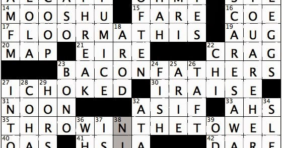 Rex Parker Does the NYT Crossword Puzzle: Volcano on Kyushu / WED ...