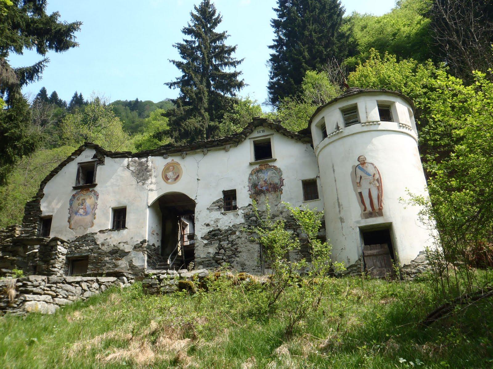 Malati di montagna nella penombra del sottobosco alla colma masset 1530 m - Riscaldare velocemente casa montagna ...