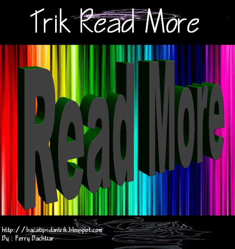 cara membuat read more pada blog