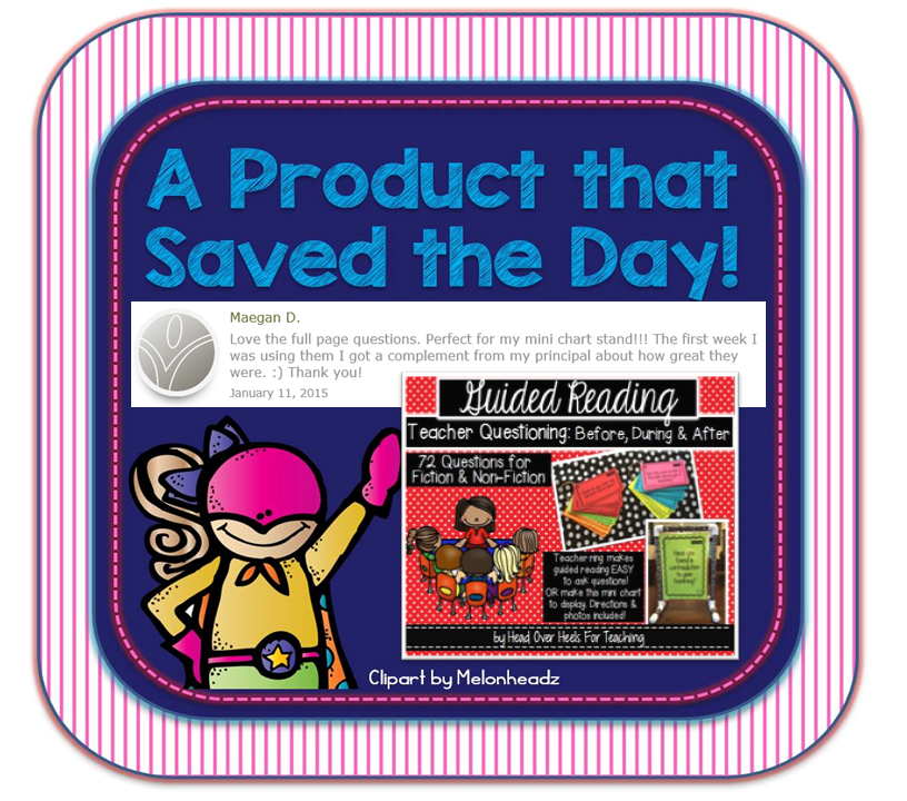 https://www.teacherspayteachers.com/Product/Guided-Reading-Questions-For-Fiction-Non-Fiction-Before-During-After-1290290
