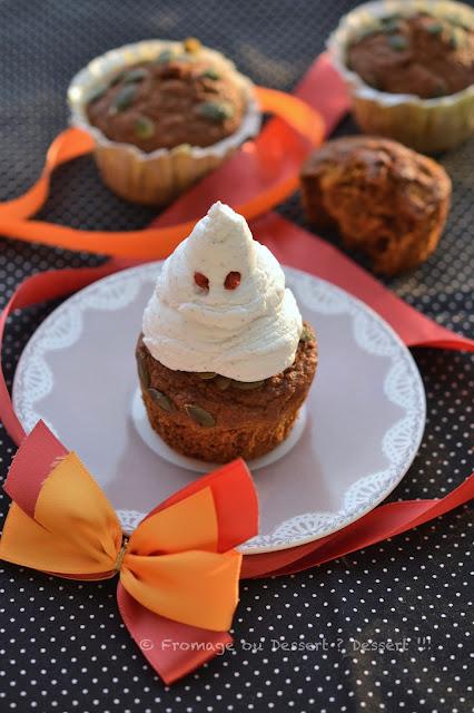 Cupcakes (base muffins à la courge) IG bas sans lactose