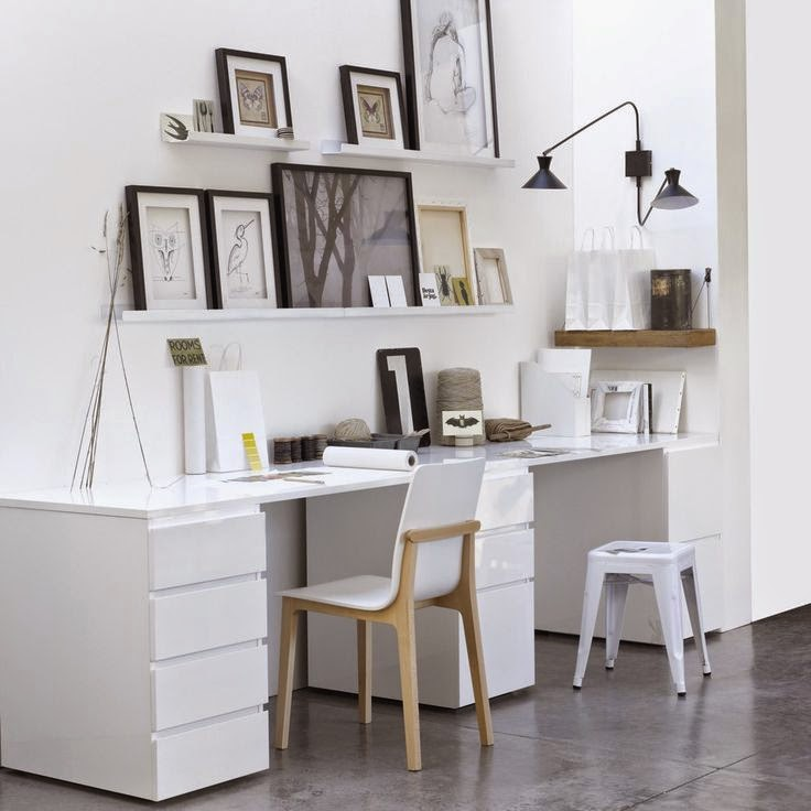 Home challenge un bureau chez soi for Bureau 2 places face a face