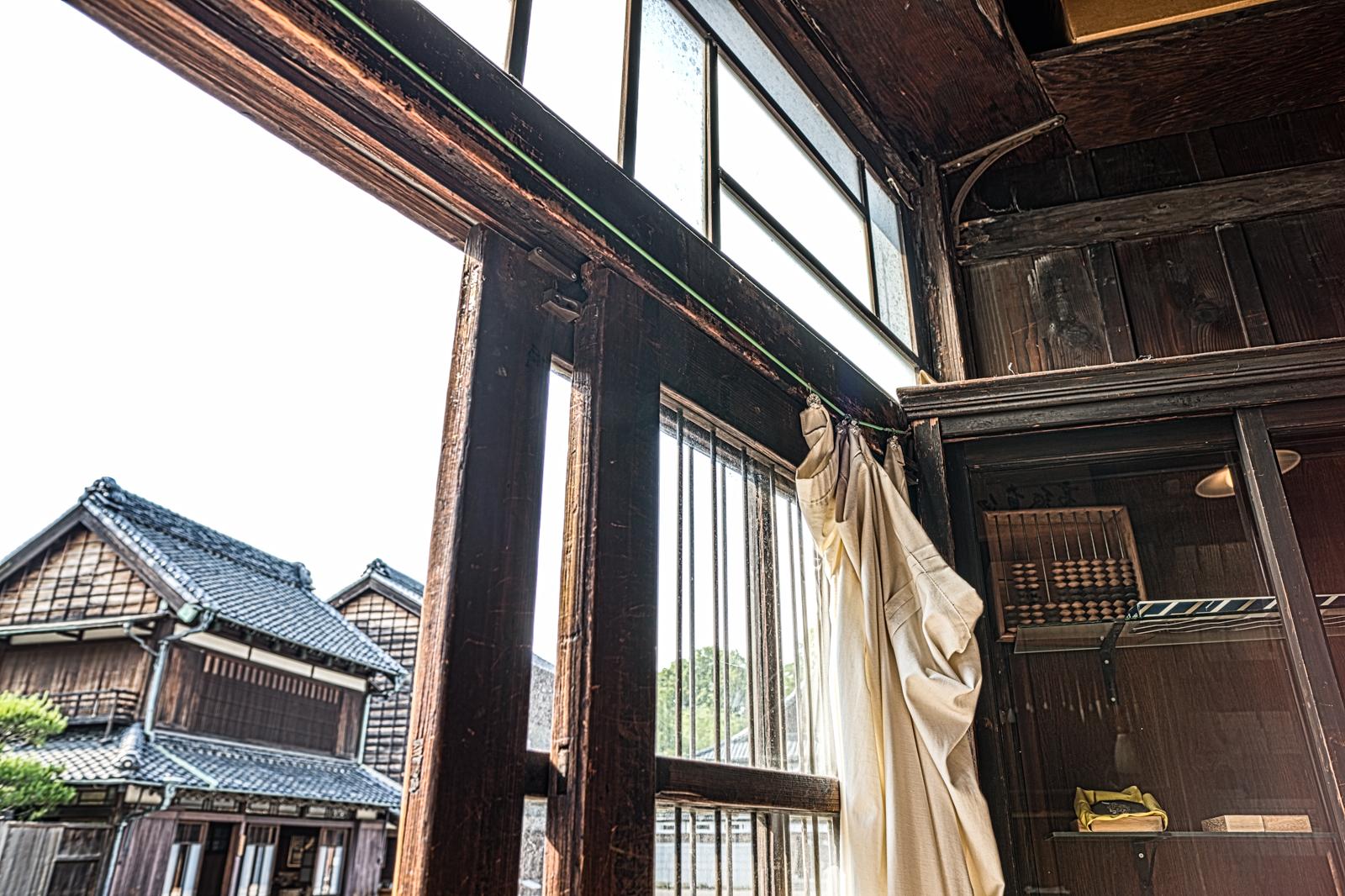江戸東京たてもの園、武居三省堂(文具店)の室内
