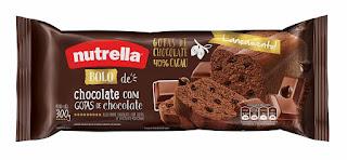 Novos sabores bolo Nutrella 2015