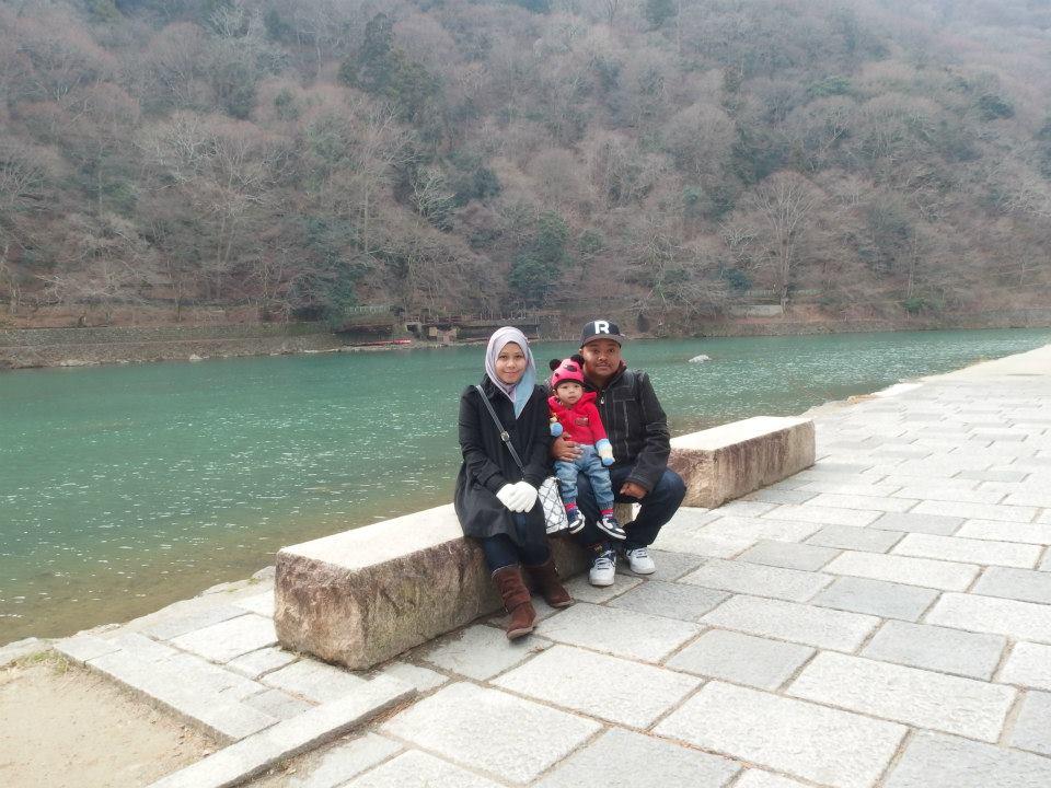 Kami di Arashiyama, Japan