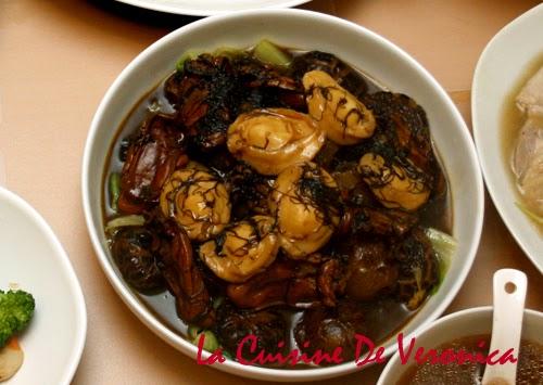 La Cuisine De Veronica,V女廚房,炆鮑魚海參花菇髮菜蠔豉