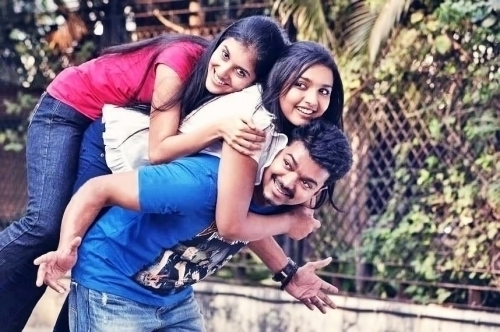 Actor Vijay Son And Daughter Photos Actor vijay in thuppaki movie