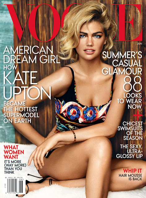 VOGUE USA COVER JUNE 2013 KATE UPTON