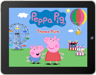 New app – Peppa Pig Theme Park