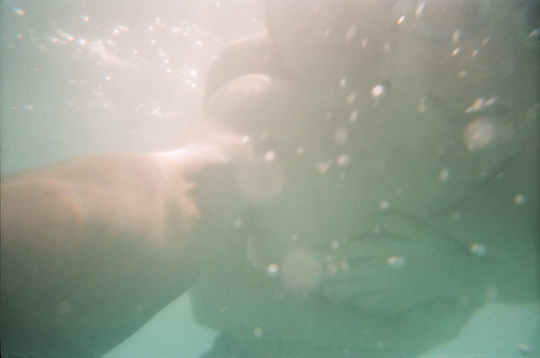 Underwater with our Reusable Underwater Lomo Camera