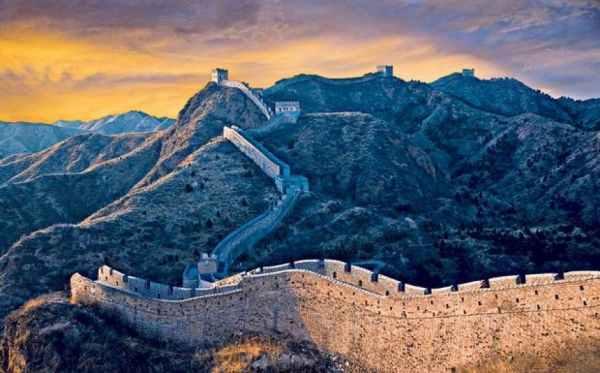 Tembok Raksasa China Tiongkok