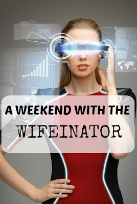 What wives and the Terminator have in common. Also, why my husband hates when I ride in his car.