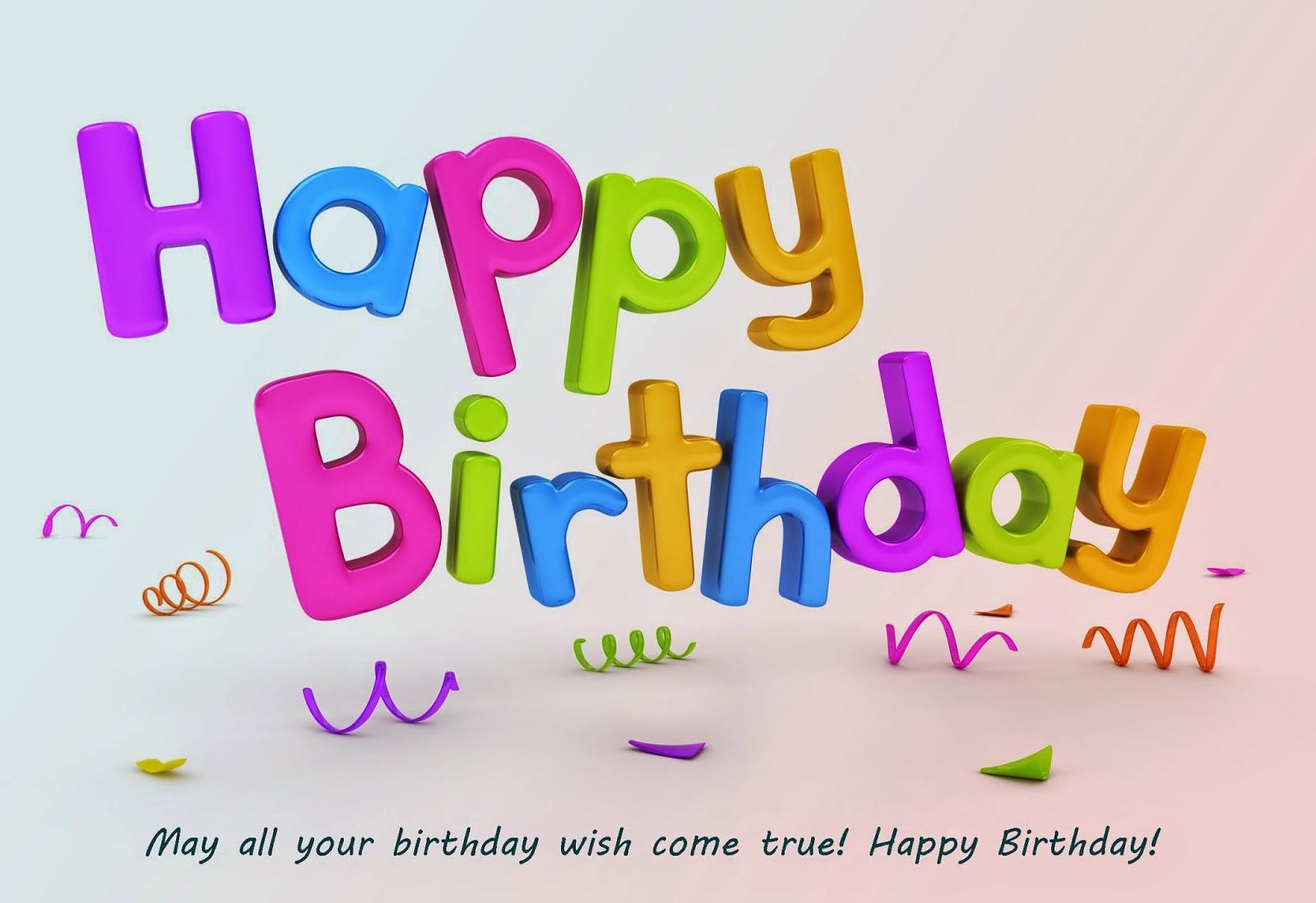 Happy Birthday Wishes 2015