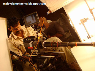 Rajeev Ravi on the sets