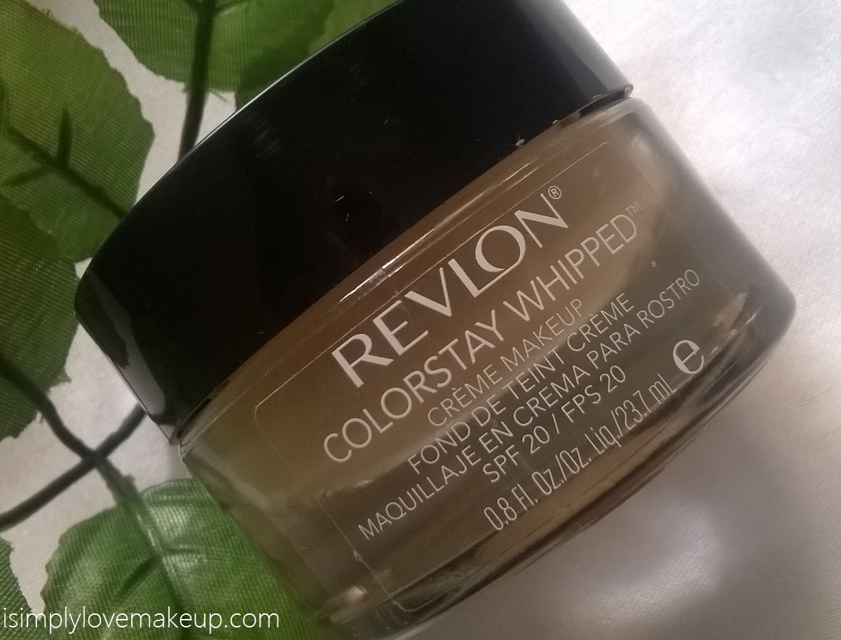 Revlon Colorstay Whipped Creme Makeup Foundation - Review