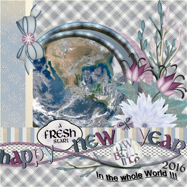 Happy New Year in the whole world