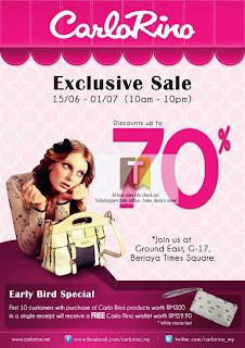 Carlo Rino Exclusive Sale 2012