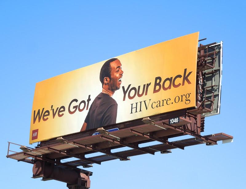 Orange HIV care billboard