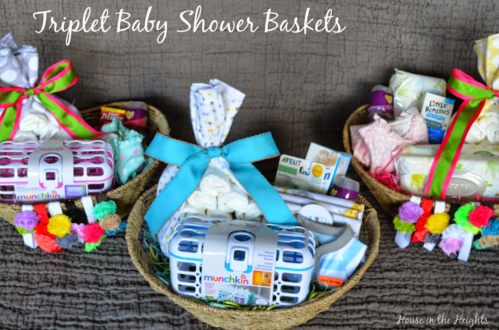 House in the Heights: Baby Shower Baskets