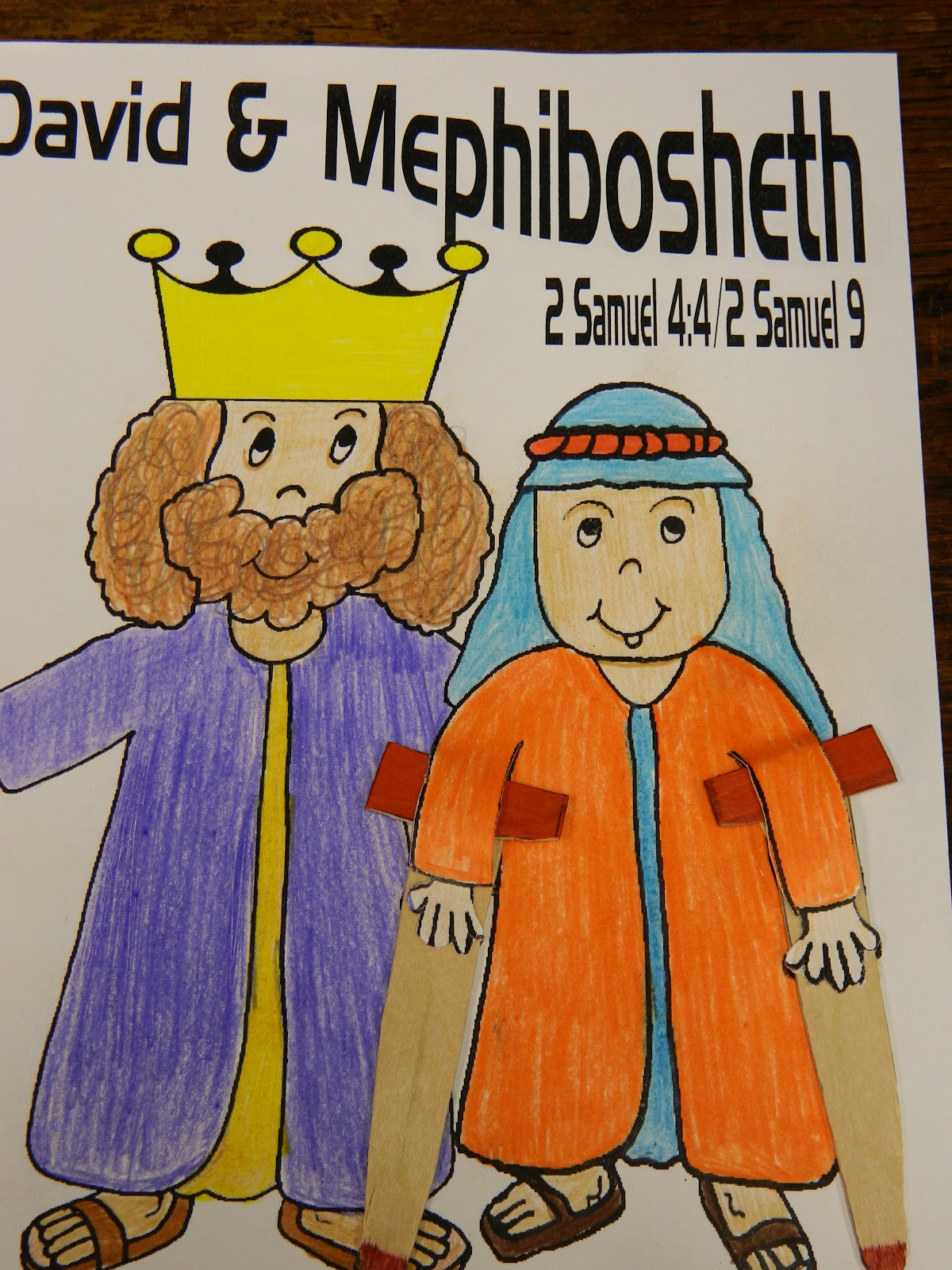 david and mephibosheth craft pictures to pin on pinterest thepinsta