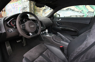 XXX Performance Audi R8 V10 Interior