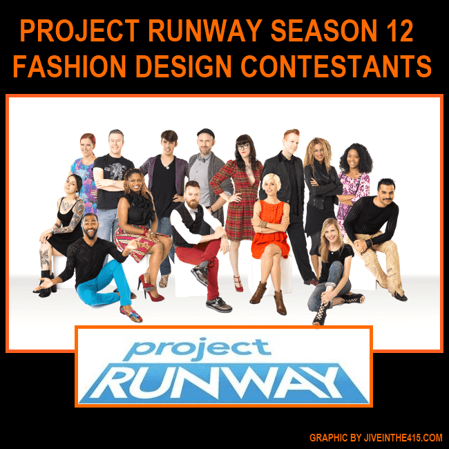 Lifetime television's Project Runway Season 12 Contestants