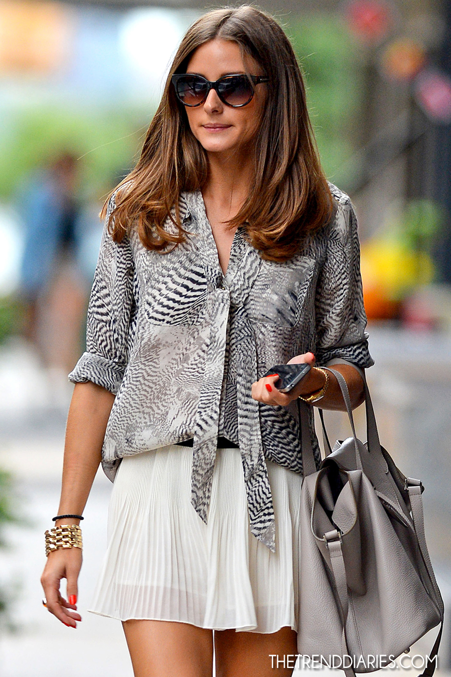 Olivia Palermo Casual Style Out In New York City June 2014 ...
