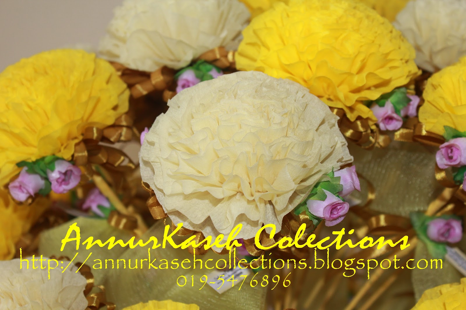 Bunga Telur VIP Terkini 2012 - Box of 50pcs - Bunga Telur