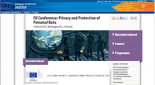 Privacidad y Protección de Datos Personales (Conferencia UE/EUA)