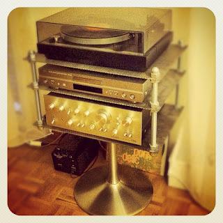 Vintage Hifi Setup