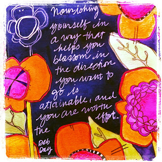 Art Journal Page by Catherine Scanlon