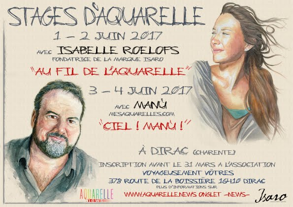 Stage avec Isabelle Roelofs et Manù
