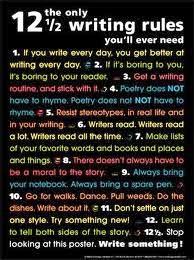 12 writing rules