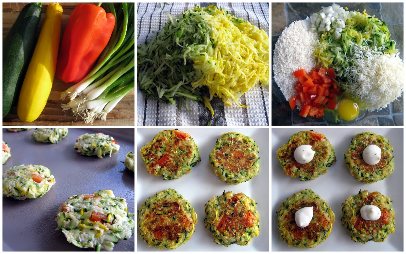 Karis' Kitchen | A Vegetarian Food Blog: Baked Zucchini Cakes