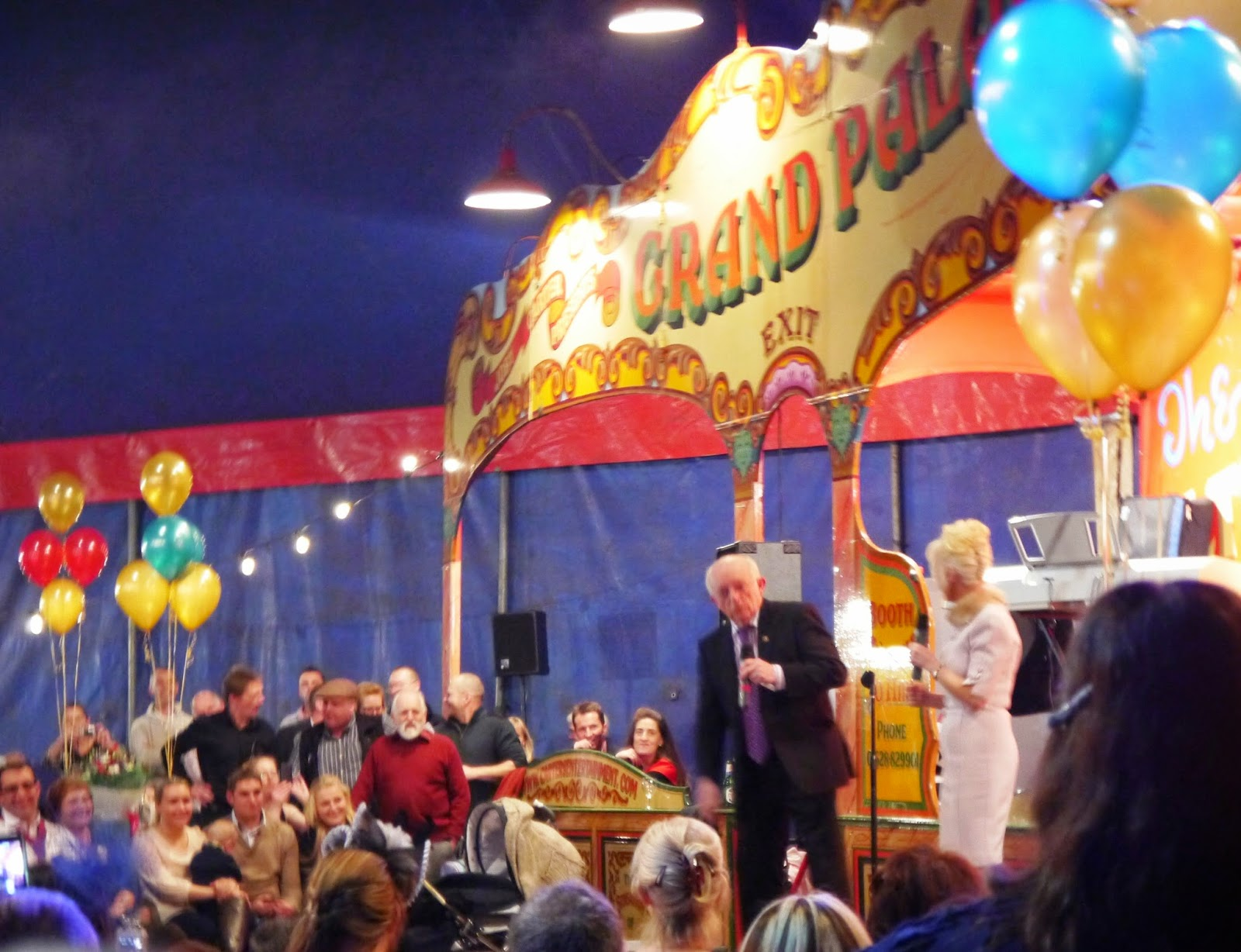 Carters Steam Fair Wedding - Paul Daniels and Debbie McGee