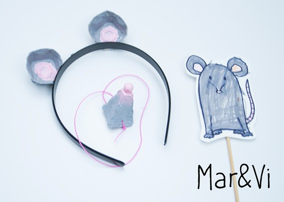 Ben noto Mar&Vi Blog: DIY: Maschere di animali fai da te con i cartoni  WA24