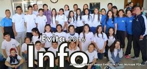 Informate Aquí!!! Juegos Evita 2016