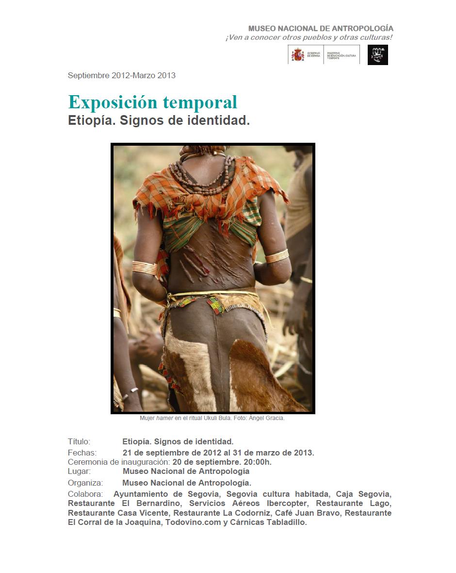 museo antropologico de madrid: