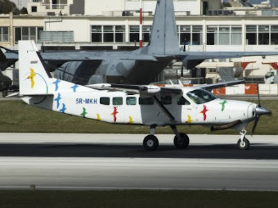 Cessna 208 Malta Airport