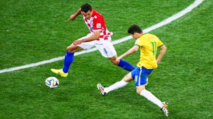 tendangan oscar brazil vs kroasia