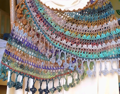Crescent Moon Shawl Free Crochet Pattern : Knitting Elegance KAL: Crescent Moon Shawl or The ...